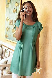Whisper Tunic  So soft  love this.  Love this color.