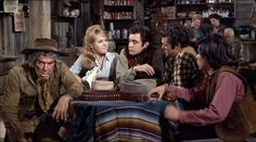 """Cat (Jane Fonda): """"Some gang! An Indian ranch hand, a drunken gunfighter, a sex maniac, and an uncle!"""" -- from Cat Ballou (1965) directed by Elliot Silverstein"""
