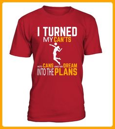 Volleyball My dream into the plans - Volleyball shirts (*Partner-Link)