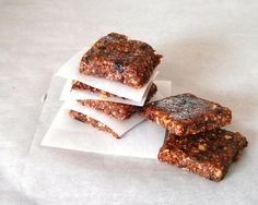 Domestic Bliss Squared: raw, gluten free, grain free and dairy free fig newtons