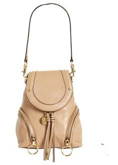 Small olga leather backpack by See By Chloe  seebychloe  backpacks See By  Chloe 684d1a0d410b4