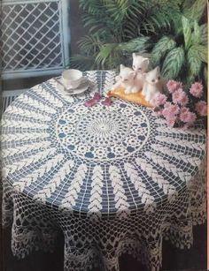 Round Tablecloths Mais