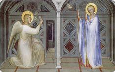 Giusto de' Menabuoi - Annunciazione - Battistero del Duomo di Padova (1376/78)