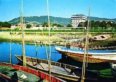 Viana do Castelo barcos agua acima