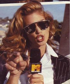 Cindy Crawford in MTV's House of Style