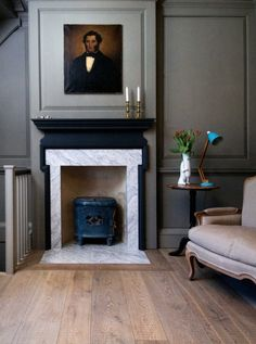 Oak Tate Bute, used here in rustic grade, works equally well in modern or period interiors.