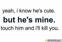 Yea, I Know He's Cute.