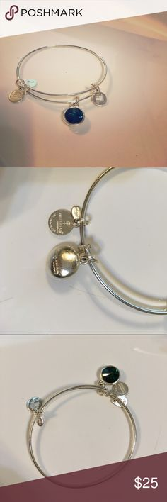 Alex & Ani Emerald Bracelet Brand new, never worn. Alex + Ani emerald bracelet. Alex & Ani Jewelry Bracelets