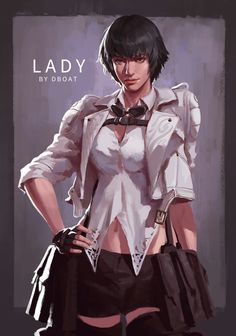 Video Game Characters, Female Characters, Nero Dmc, Character Art, Character Design, Dante Devil May Cry, Imagenes My Little Pony, Dmc 5, Video Game Art