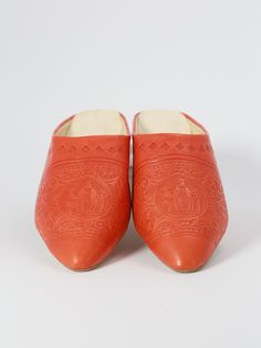 Babouche slipper with engraved patterns. | Biyadina® BABOUCHE ADDICTION
