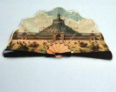 Folding fan, Vienna 1873 __________________ Faltfächer @ Wien Museum