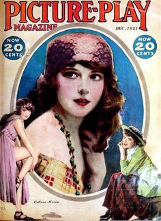 Colleen Moore on the cover of Picture Play Magazine, 1921