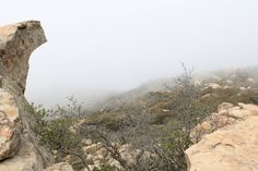 Walks that locals know about that you can now also discover. Mountain HIke at Lizard's Mouth, Santa Barbara