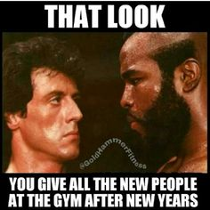 How about people encourage the newbies - it takes a lot of courage to walk into a gym full of gym rats who forget what it was like to begin!