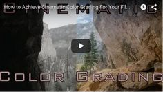 Share this post and help spread the love! How to Achieve Cinematic Color Grading For Your Films! .video-container{text-align:center;} Share this [...]