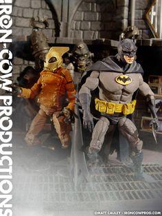 BATMAN and ROCKETEER Custom Toys in the HELLBOY Style of MikeMignola - News - GeekTyrant