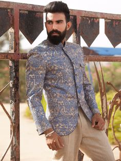 Shop Beige Terry rayon claasy jodhpuri suit online from G3fashion India. Brand - G3, Product code - G3-MCO0704, Price - 15295, Color - Beige, Fabric - Terry Rayon,
