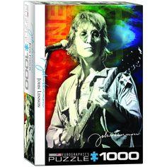 John Lennon - Live in New York - 1000 Piece Jigsaw Puzzle
