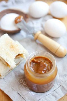 Kaya (Malaysian Coconut Egg Jam) Kaya (Malaysian Coconut Egg Jam) Kaya is a delicious Malaysian jam made with coconut, eggs and caramel. Rich and aromatic jam which is perfect for toa...  #coconut #malaysian