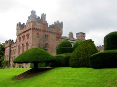 Hutton-in-the-Forest Castle near Penrith, Cumbria, England Small Castles, Castle Pictures, Castles In England, Tower House, Fantasy Castle, Beautiful Castles, Medieval Castle, Places Of Interest, Cumbria