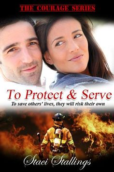 """""""The series you won't want to put down""""  It starts with... To Protect & Serve  http://www.stacistallings.net/books/lucky-2/"""
