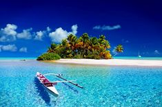 Tahiti is the highest and largest island in French Polynesia. The angled palm trees, shallow turquoise seas, white sands, panoramic skies collectively make the amazing scenic beauty of Tahiti (Image by Julius Silver) Travel Deals, Travel Destinations, Travel Tips, Vacation Travel, Travel Stuff, Solo Travel, Airline Deals, Peru Vacation, Travel Flights