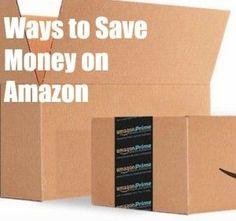 Ways to Save Money o