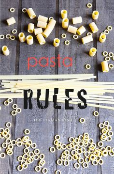 The Italian Dish: Six Rules for Cooking Pasta  (A great read if you're not an experienced pasta cook!)