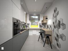 Kuchnia 1 - Kuchnia, styl nowoczesny - zdjęcie od Interiors Dawid Zieja