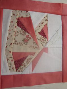 BUTTERFLY paper piecing quilt block pattern PDF by endulzar, $1.52