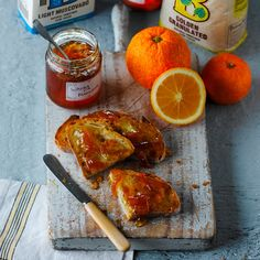 This Orange And Whisky Marmalade Recipe is made with Seville oranges with a dash of Scotch whisky, great for Father's day or a homemade Christmas present.