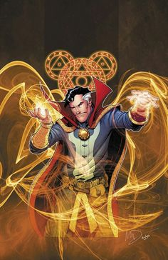 When Doctor Strange predicted Marvel would be owned by Disney. Comic Book Characters, Comic Book Heroes, Marvel Characters, Comic Character, Comic Books Art, Comic Art, Comic Movies, Character Design, Marvel Doctor Strange