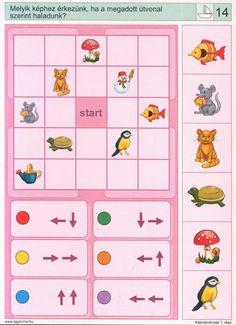 Logico --Képrejtvények 1 - Katus Csepeli - Picasa Webalbumok Spanish Classroom Activities, Math Activities, Preschool Activities, Visual Perception Activities, Sequencing Cards, File Folder Activities, Homeschool Math, Homeschooling, Coding For Kids