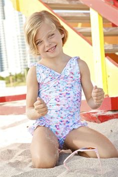 Peixoto Lily One Piece | The Peixoto Kids Lily is the designer swimsuit of every girl's dreams. Its fun and colorful tie dye print makes this the swimsuit for girls everywhere. Choosing the Peixoto Kids Lily makes your little girl's swimwear collection all the more special. #peixoto