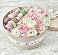 Making A Bouquet, Serving Bowls, Shabby Chic, Box, Tableware, Flowers, Snare Drum, Dinnerware, Tablewares