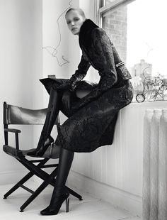 Alisa Ahmann by Txema Yeste for Numero September 2015 | The Fashionography