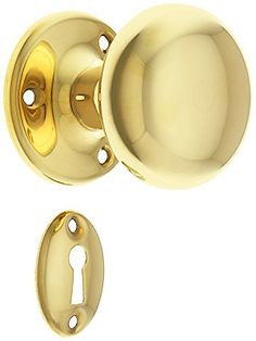 Solid Brass Rosette Mortise Lock Set With Round Brass Knobs In Unlacquered  Brass. Entry Door ...