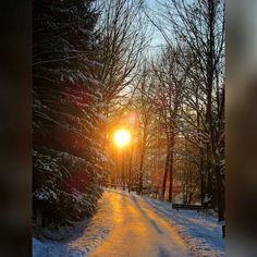 Winter in Oberfranken: Grüße vom Untreusee