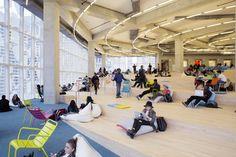 Galeria - Centro de Aprendizagem da Universidade de Ryerson / Zeidler Partnership Architects + Snøhetta - 11
