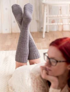 Ravelry: Fitzcarraldo Knee Sock pattern by Kate Atherley Thigh High Boots Heels, Thigh High Socks, Knee Socks, Heel Boots, Cable Knit Socks, Knitting Socks, Emo Dresses, Stocking Tights, Sexy Stockings