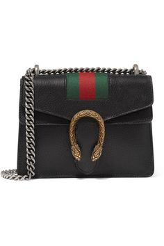 91b05ae3627 Gucci - Dionysus mini textured-leather shoulder bag