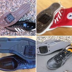 Retrofitz ($50): Instead of forking over the cash to buy a new pair of bike shoes, turn an old pair of sneakers (or any flat shoe, for that matter) into a pair of bike shoes! via Brit + Co.