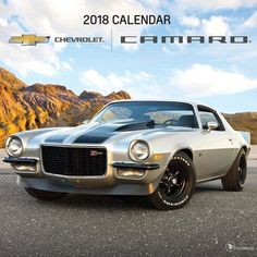 2018 Camaro Wall Calendar