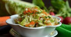 Młoda kapusta z rzodkiewką Nasu, Lettuce, Potato Salad, Cabbage, Potatoes, Cooking Recipes, Vegetables, Ethnic Recipes, Food