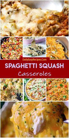 25 Best Spaghetti Squash Casseroles
