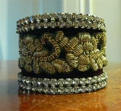Lizzy Vintage Couture Cuff