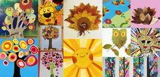 Utilisez des feuilles de couleur, des magasines, des journaux et des feuilles d'arbre pour faire du collage papier nature. Voici 25 idées et des conseils...