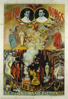 The Fak Hongs : Number of illusion: The biggest in the world, Anonymous, 1900-1950. Biblioteca Valenciana Digital, Bivaldi. Public Domain.