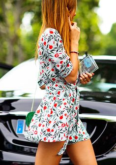 Printed Rompers: Summer's Most Adorable Staple | The Zoe Report