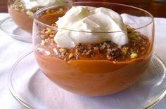 Pudding de arroz de chocolate con Ambrosías Tirma